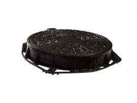 MANHOLE COVER D.400 710*85 WITH LOCK